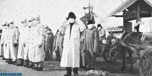 Санитарный отряд в Харбине.